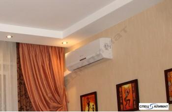 установка сплит системы Дантекс в квартире